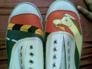 Goldy shoe